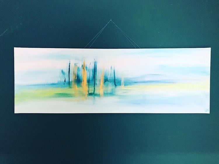 Valley (50 150 - acrylic, abstract - maikeniemeier | ello