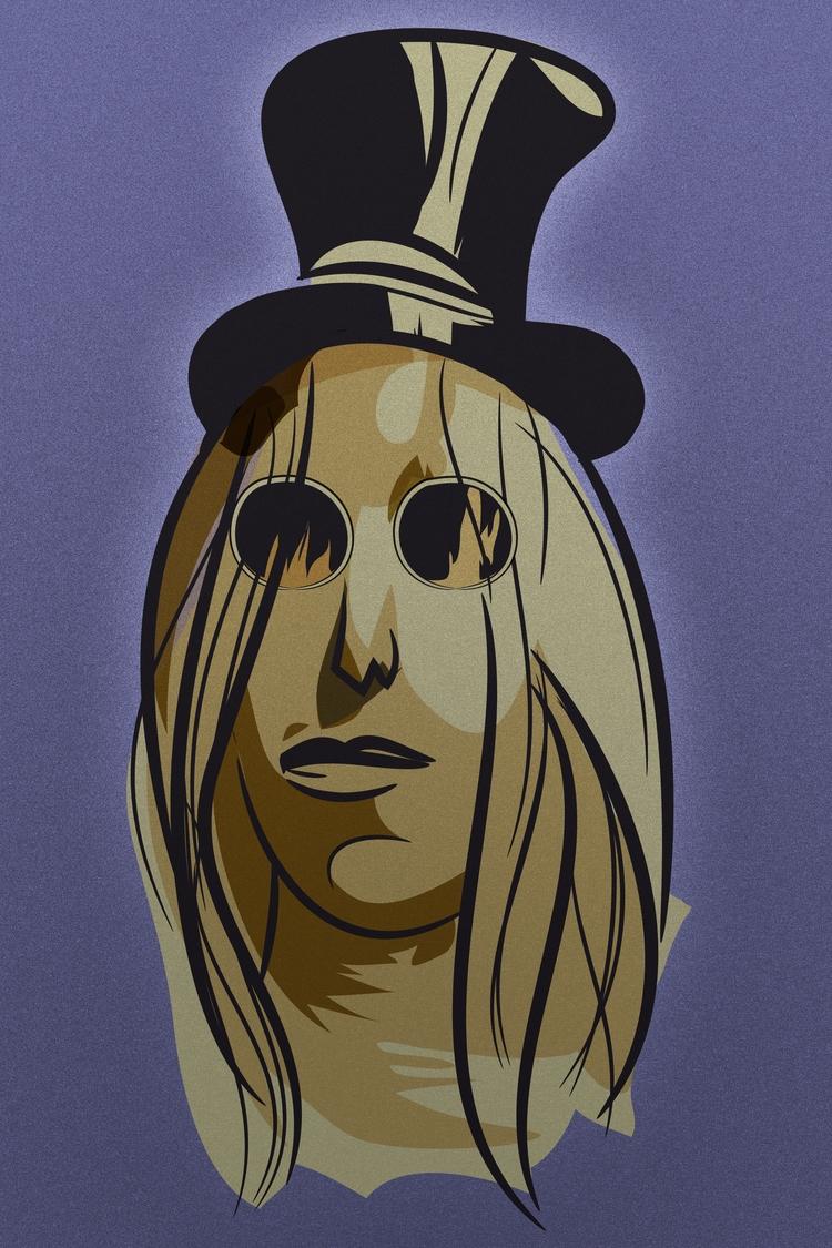 Tom Petty - portrait, adobeillustrator - corneldraghia | ello