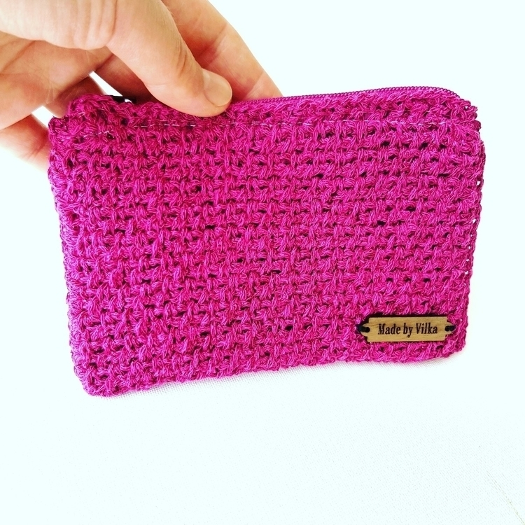 Gorgeous sparkly pink coin purs - vilka | ello