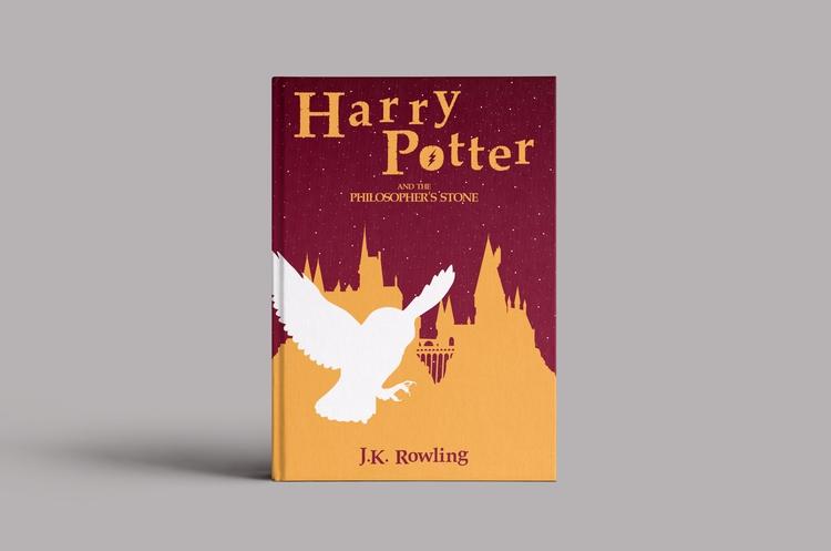Harry Potter Stone - book cover - federicogastaldi | ello