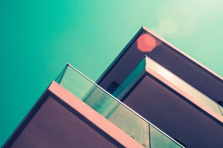 concrete peaks - architecture, vibrant - kylie_hazzard_visuals | ello