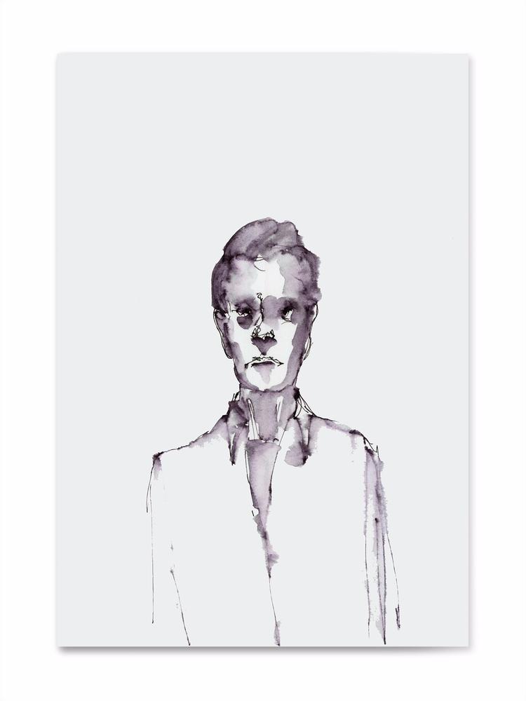 sketch,, penink,, art,, man, - 100realpeople | ello