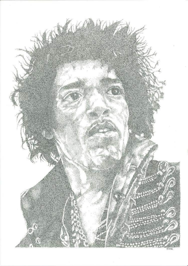 Jimi Hendrix - sereninspired, silva - nightrav3n | ello