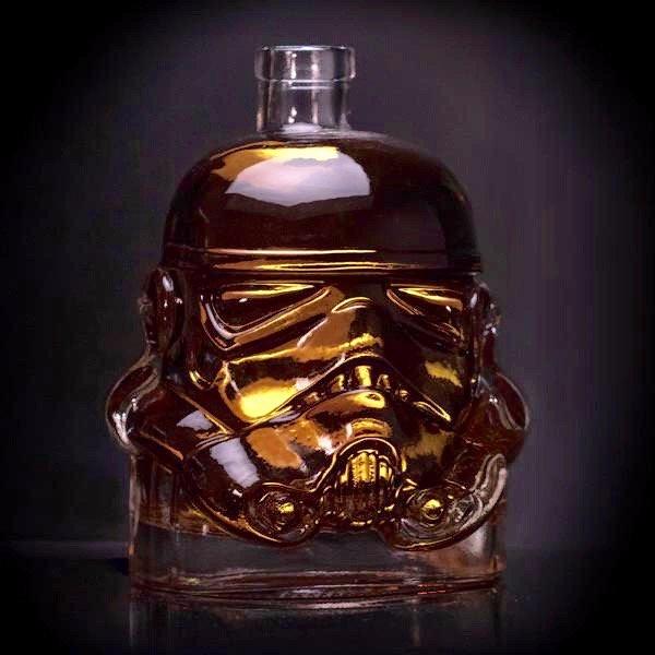 Star Wars Stormtrooper decanter - bonniegrrl | ello
