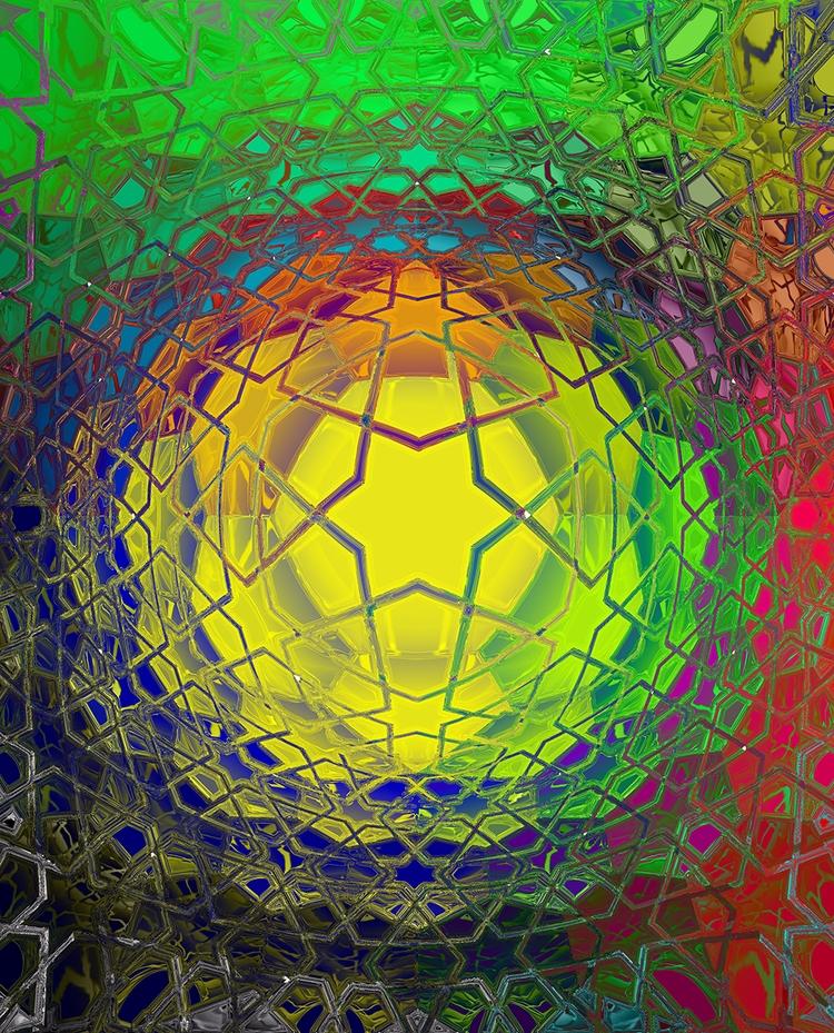 Star Bubble Digital Art - art, abstract - sphericalart | ello