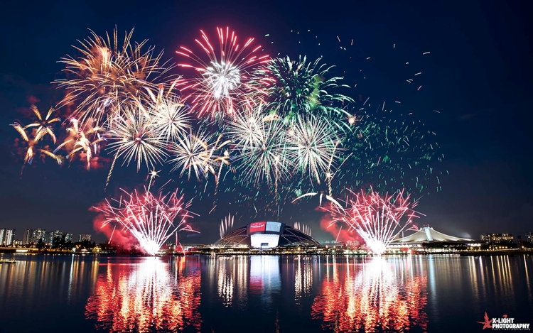 Singapore, fireworks city - photography - wxzhuo | ello