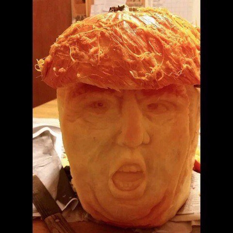 Carve Donald Trump pumpkin – Tr - bonniegrrl   ello