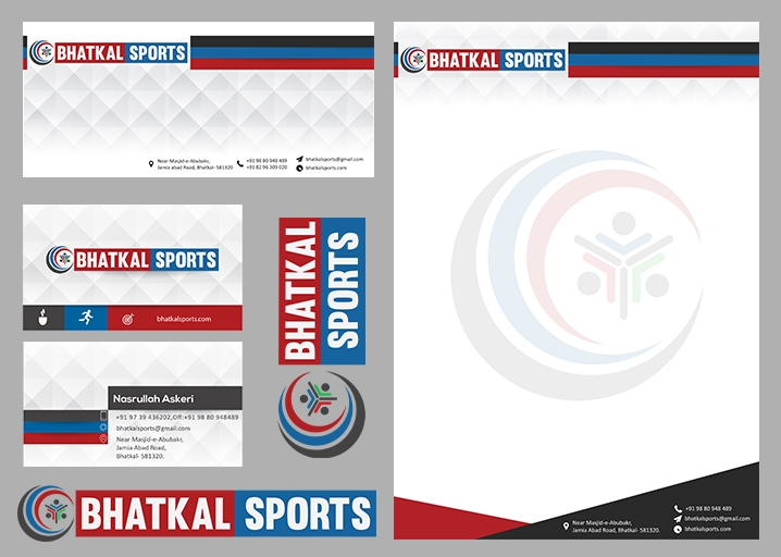 Bhatkal sports branding package - maveez | ello