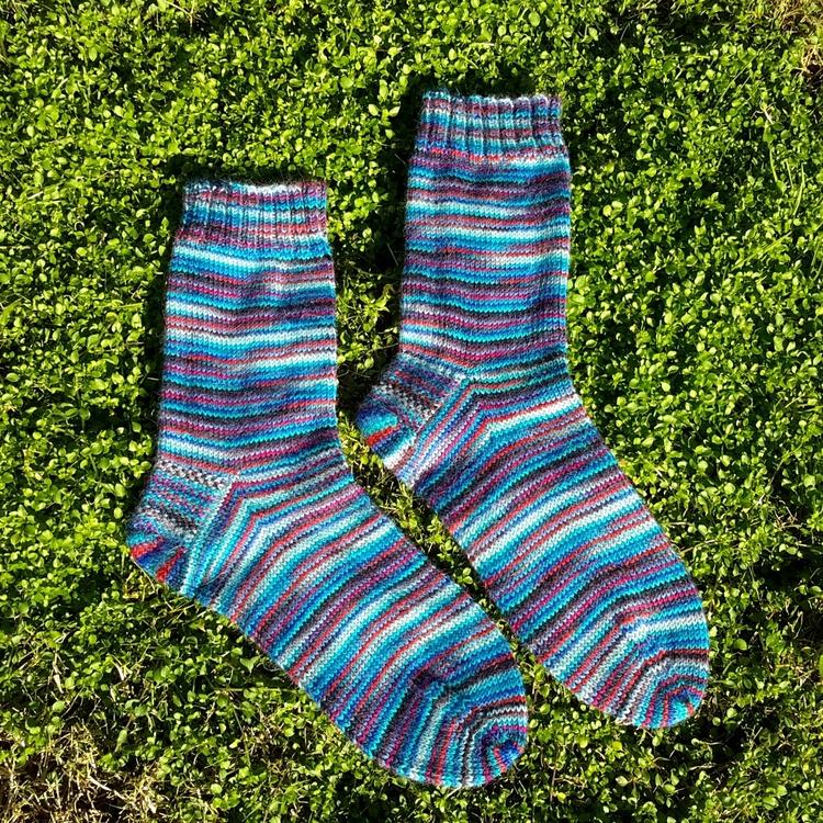 Misti Alpaca socks knitted 2.25 - kyleenasteena   ello