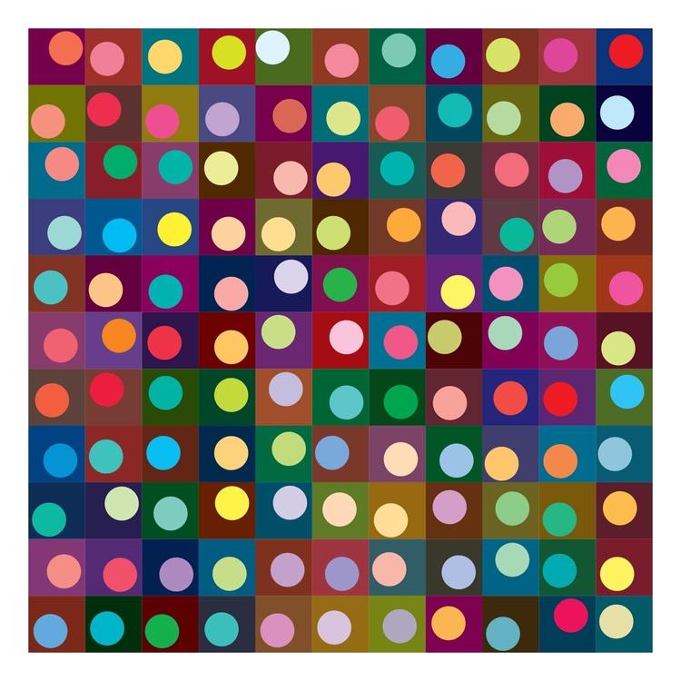 Squares Dots Light Bright dots  - arjeneshuis | ello