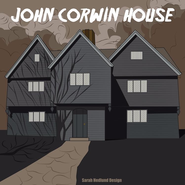 John Corwin House - Salem, MA W - sarahhedlunddesign | ello