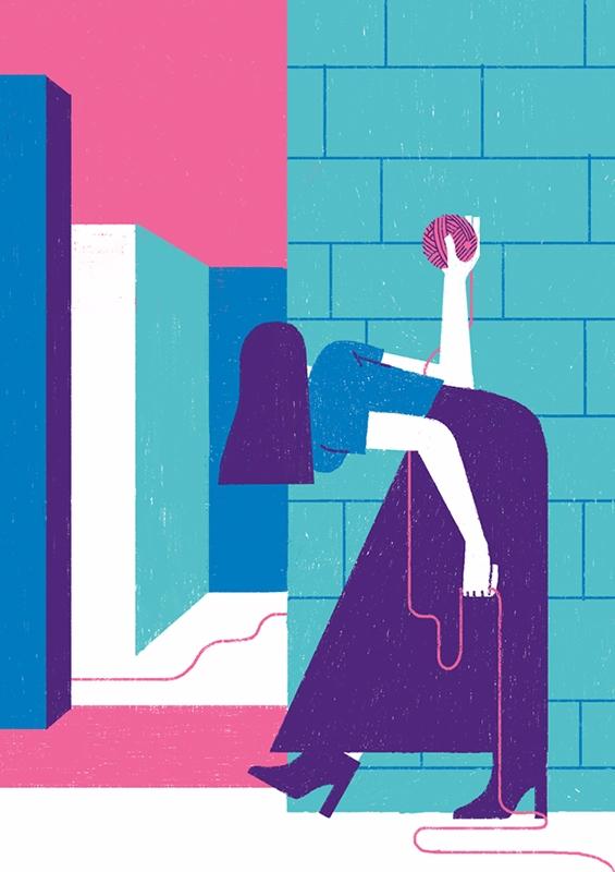 Labyrinth - illustration, editorial - giulio_castagnaro | ello
