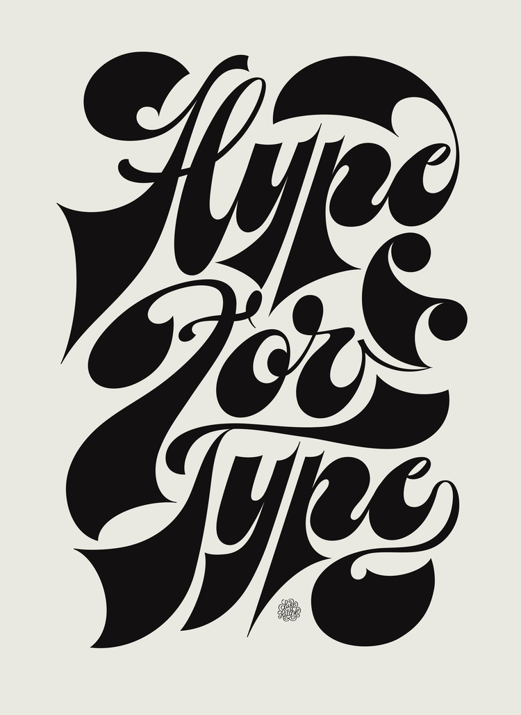 initiated lettering piece. crav - lukeritchie   ello