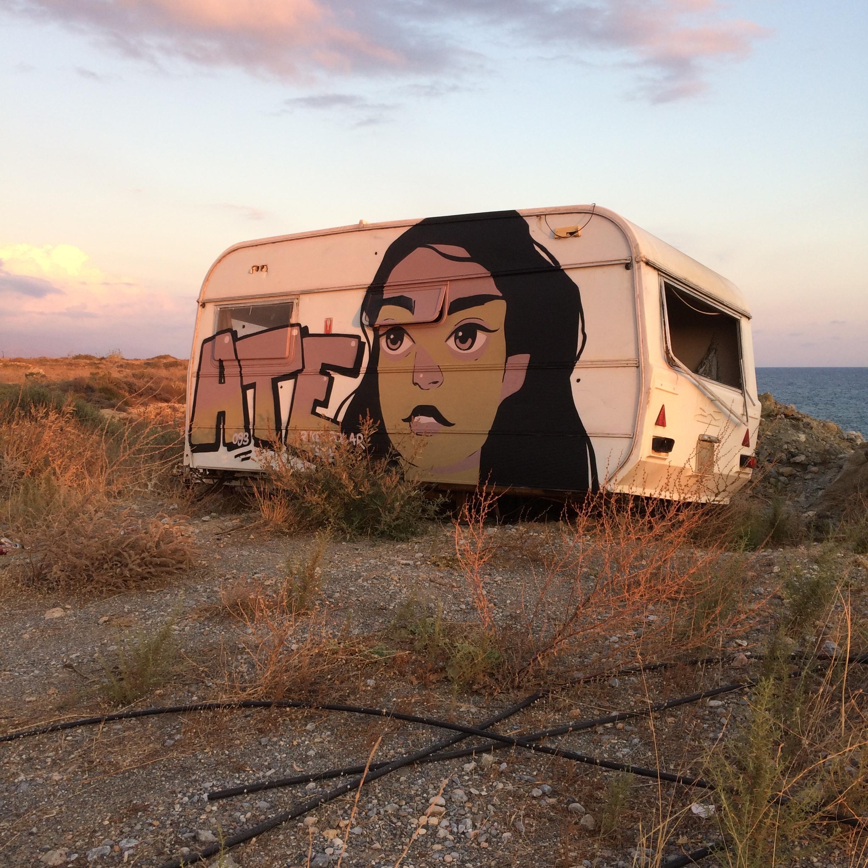 caravan crete - ate, urbanart, art - sidas_ate | ello