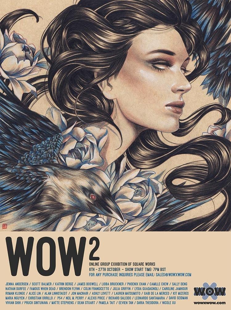 WOW² opens Friday! 30 artists,  - wowxwow   ello