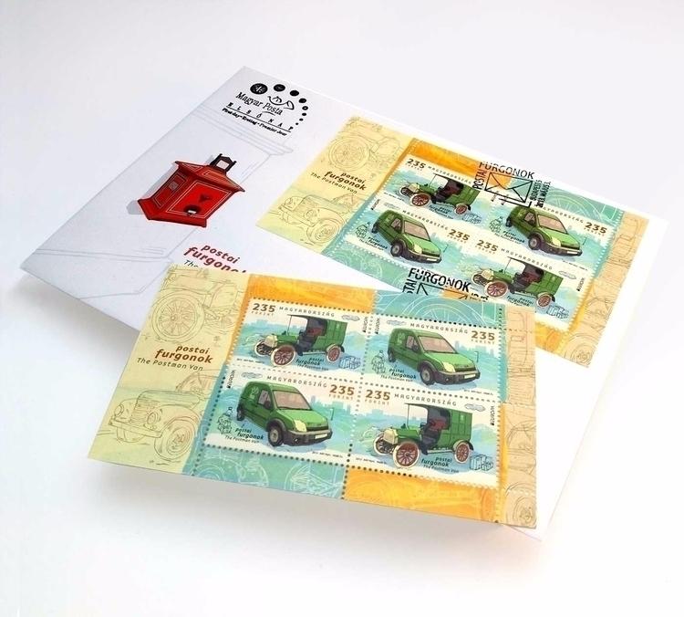 STAMP POSTMAN VAN stamp FDC **H - zsoltvidak | ello