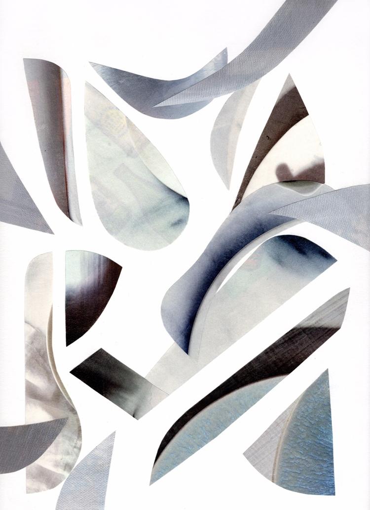 Fragments 3 - art, collage, collageart - fm_villars   ello