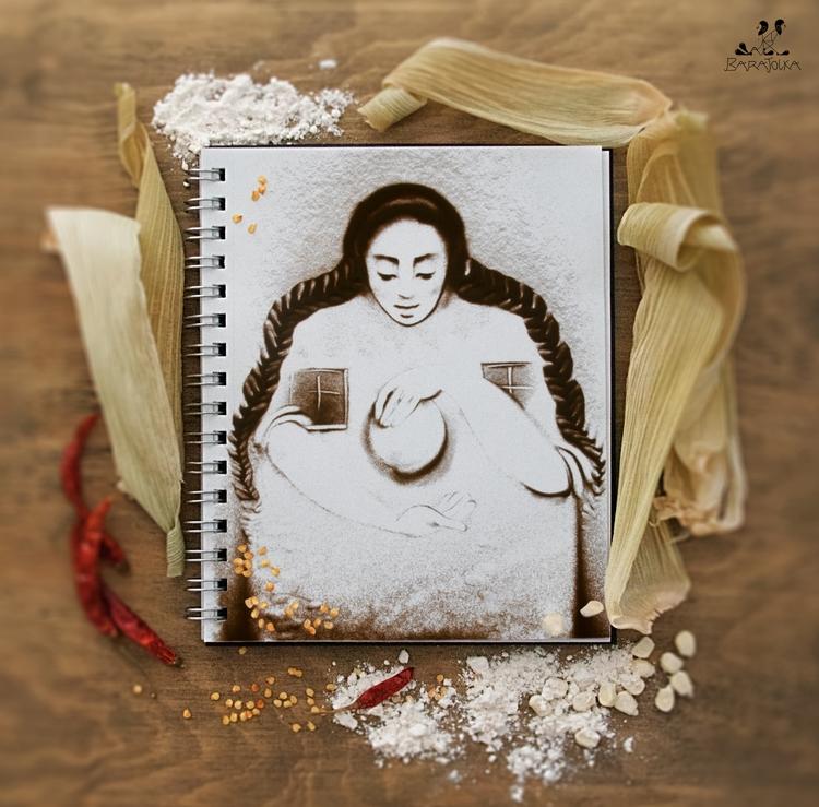 SAND art BOOK. Mexico barajolka - barajolka | ello