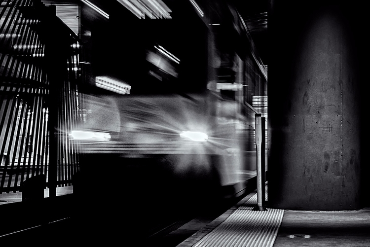 Line - trains, photography, abstract - doc | ello