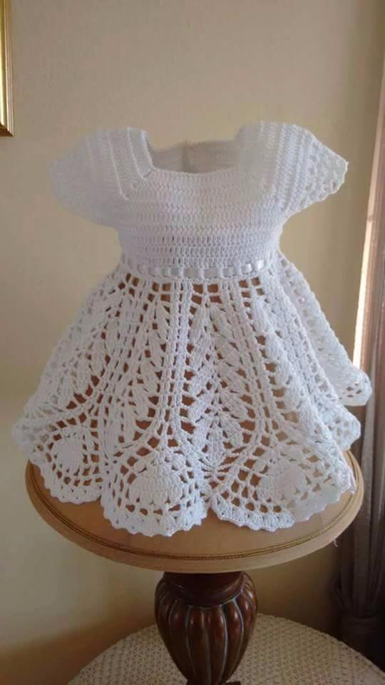 beautiful model crochet dress b - brunacrochet   ello
