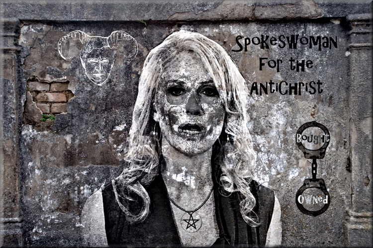 Politics Power Street Art Grey  - greycrossstudios | ello