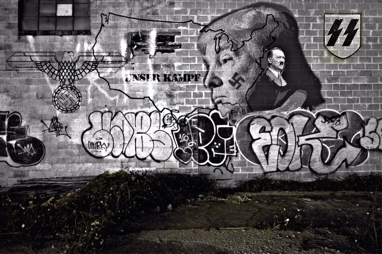 Politics Power Street Art Grey  - greycrossstudios   ello