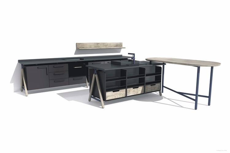 baka, kitchen concept - minimal - mhjl | ello