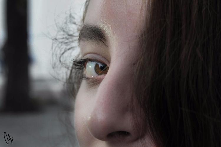 eyes mouth - annietello | ello