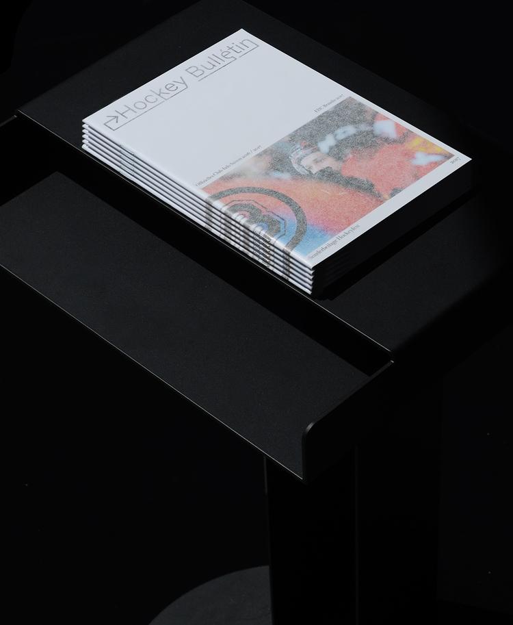 Book design Hockey Bulletin Mag - northeastco | ello