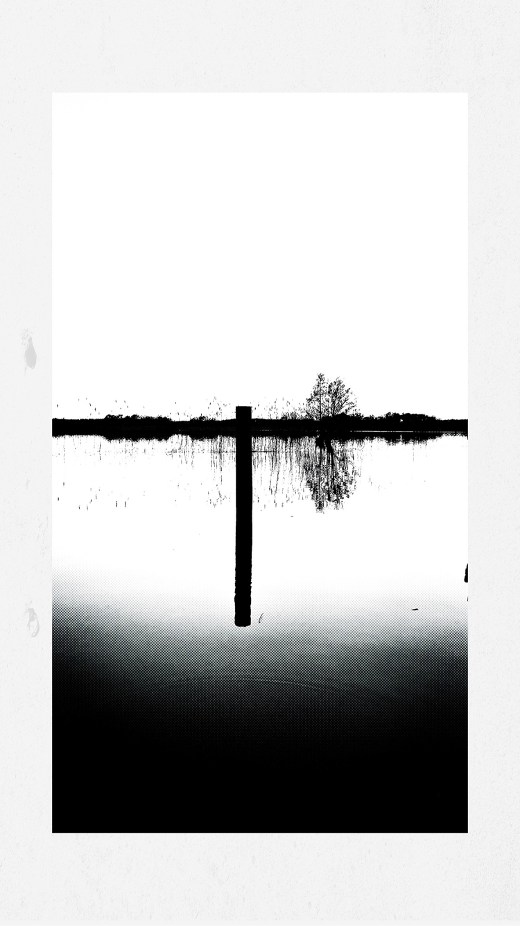 UpsideDown - play, photo, lake, lines - yogiwod | ello