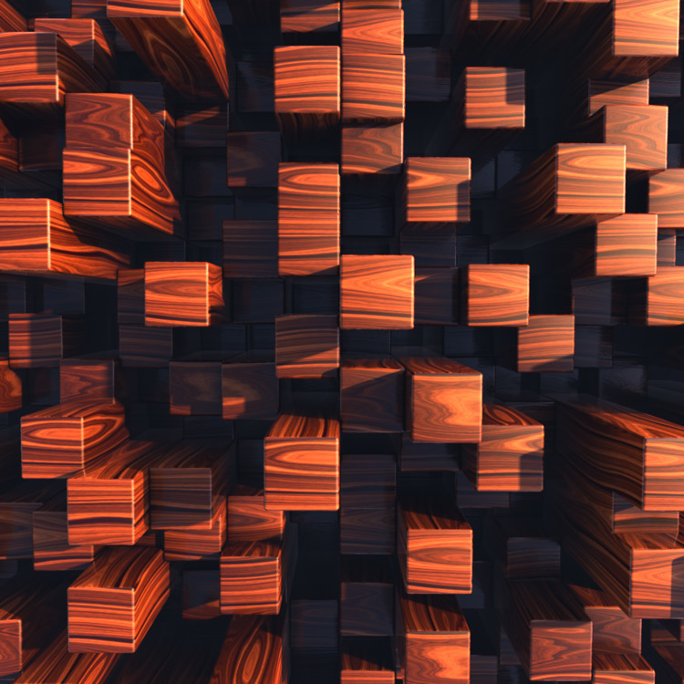 Wood Series lot renders CHECK - 3d - mographmartin | ello