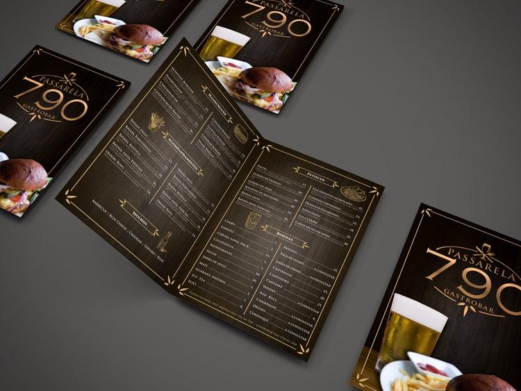menu, cardapio, impresso, printed - nalumarques | ello