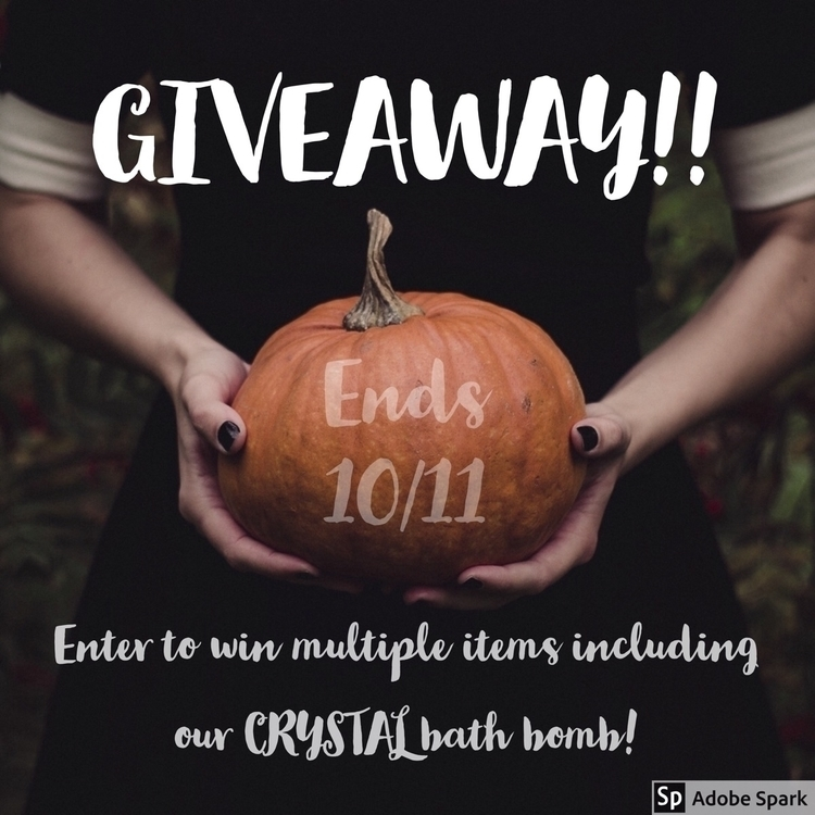GIVEAWAY ends October 11! Share - skyybombs | ello