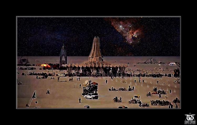Burning Man 2017 - Art Distance - greycrossstudios | ello