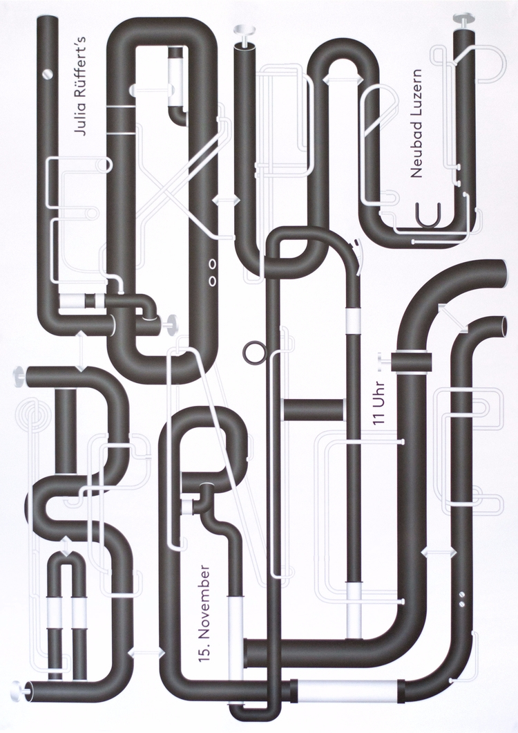 typography poster common shapes - andersbakken | ello