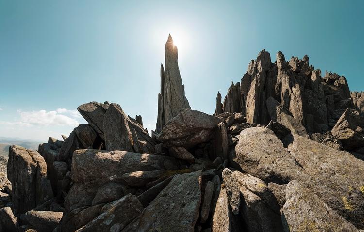 Rocks Glyder Fach Uncanny rock  - andrewbrooks | ello