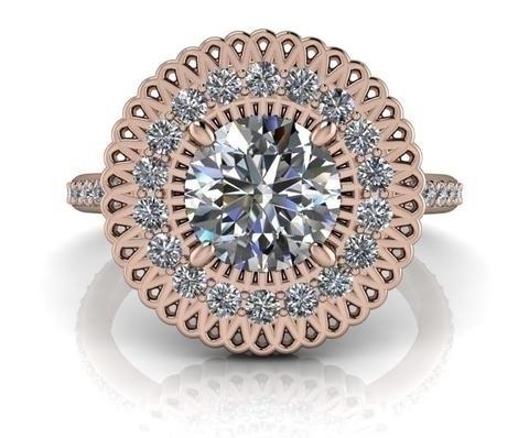 Buy Diamond Alternative Rings  - belviaggiodesigns | ello