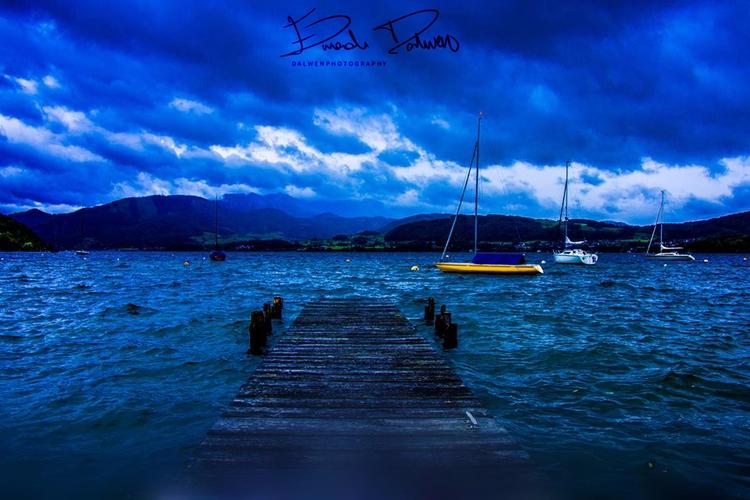 Gemunden Austria. . Mad Blue Cl - dalwenphotography | ello