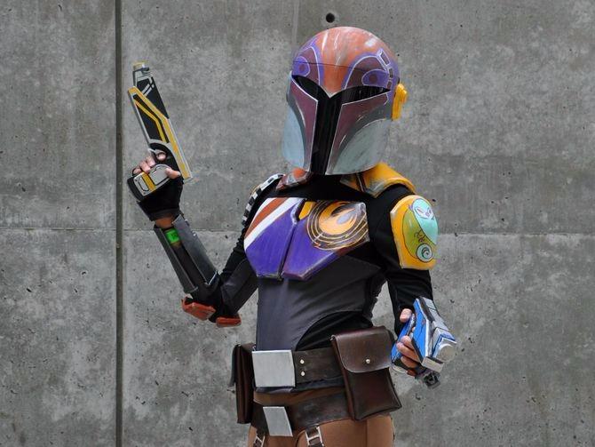 Fake cosplay guns, real securit - bonniegrrl | ello