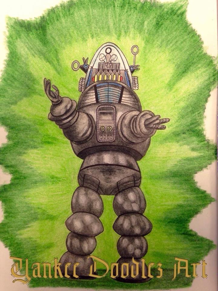 prismacolor drawing greatest ro - yankeedoodlezart   ello