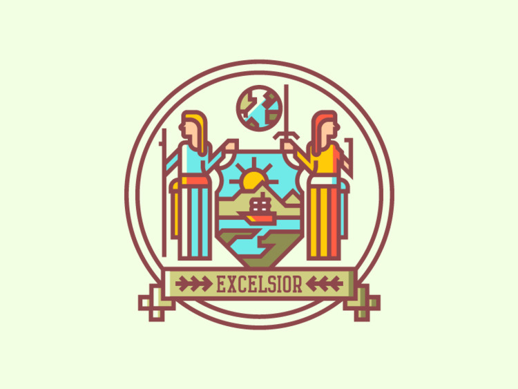 York Crest (237/365 - darumacreative | ello