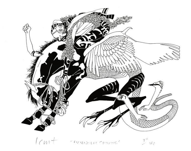 Lin Tarczynski, Friendly Spirit - echo-of-newt   ello