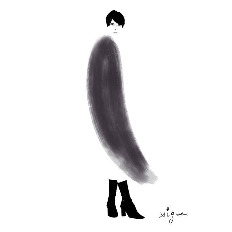 Fashion sketch Rocio Vigne - art - rociovigne | ello