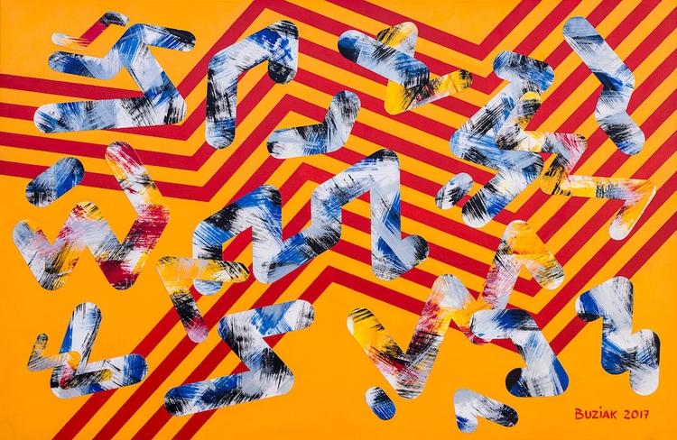 "Battle Lines"" artwork months - edbuzz | ello"