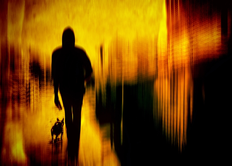 Walk - street, photography, people - elhanans | ello