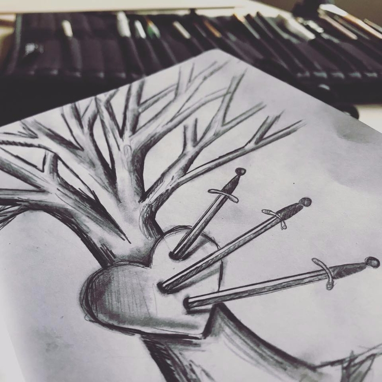 Inktober Quick Sketch 🖤 Prompt - auniakahn | ello