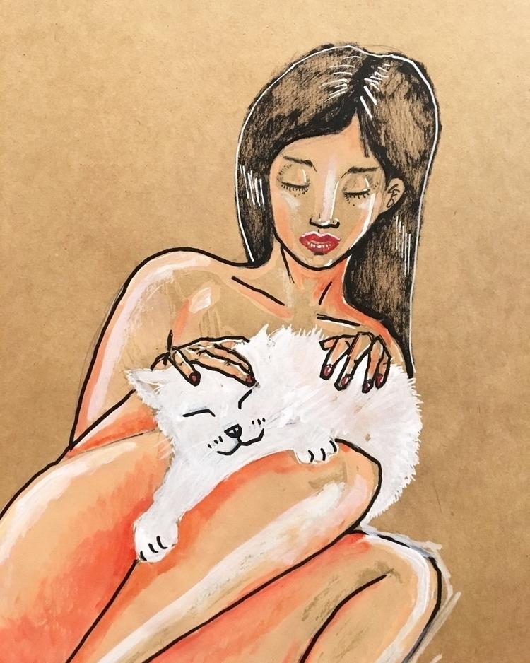 Sleepy pussy:cat - omirlee | ello
