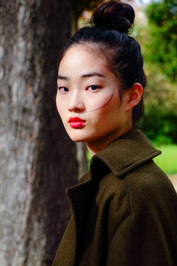 Hyunh Ji Shin, portrait - Paris - fashionsnap | ello