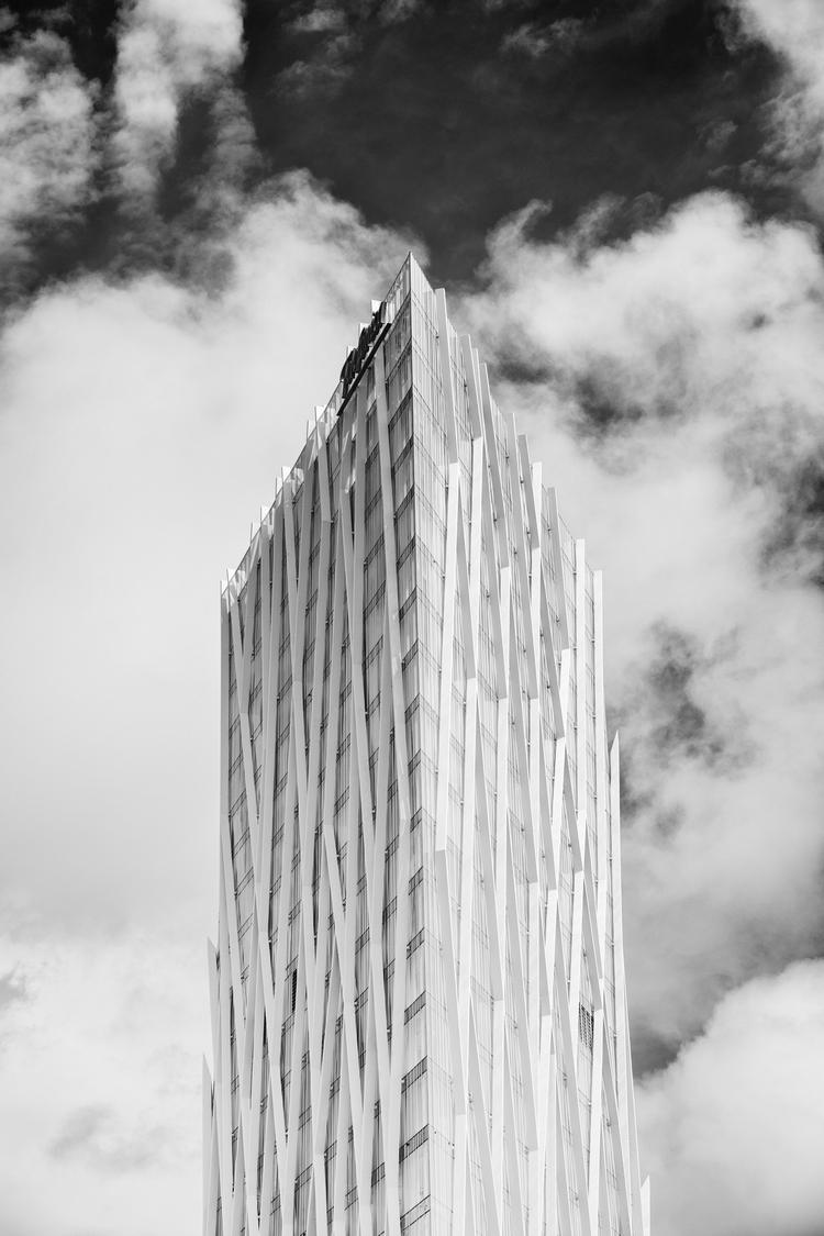 Barcelona Architecture Series T - alexreigworks | ello