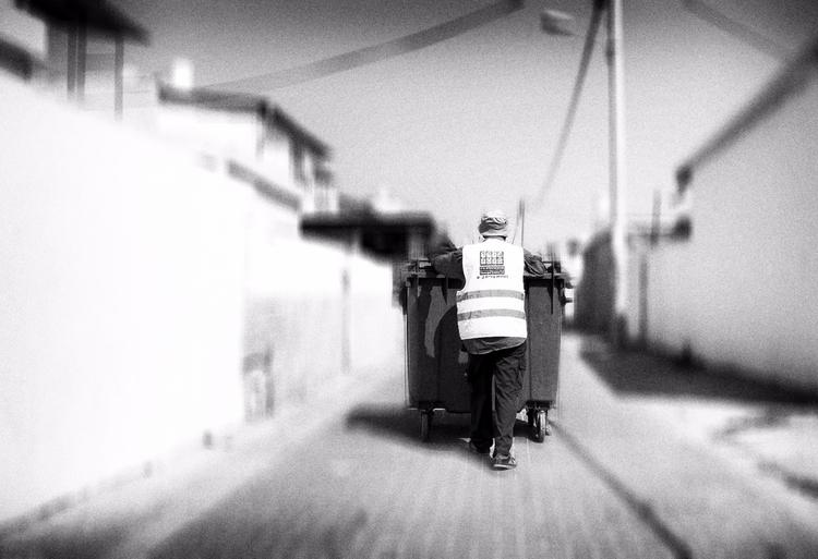 day. bw - street, photography - elhanans | ello
